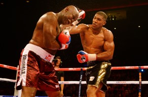 Anthony Joshua v Matt Skelton