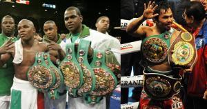 Oscar De La Hoya, Floyd Mayweather Jr.