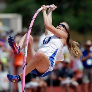 Blind Pole Vaulter Athletics