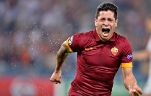 Roma 17/09/2014 - Champions League / Roma-Cska Mosca / foto Insidefoto/Image Sport nella foto: Juan Iturbe
