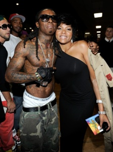 LOS ANGELES - JUNE 28:  (L-R) Singer Lil Wayne and actress Taraji P. Henson pose backstage at the 2009 BET Awards held at the Shrine Auditorium on June 28, 2009 in Los Angeles, California. (Photo by Frank Micelotta/Getty Images)