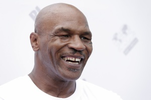BEIJING, CHINA - MAY 24:  Former Heavy Weight Champion Boxer Mike Tyson  attends the Great Wall Weigh-in of IBF World Boxing Championship Bout at Mutianyu on May 24, 2016 in Beijing, China.  (Photo by Lintao Zhang/Getty Images)