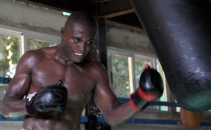 Julio Cesar la Cruz, titular de la division de los 81 kg del Boxeo cubano. Foto: Ismael Francisco/Cubadebate.